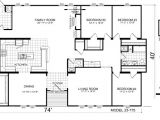 Triple Wide Manufactured Homes Floor Plans Triple Wide Mobile Home Floor Plans Manufactured
