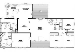 Triple Wide Mobile Homes Floor Plans Triple Wide Manufactured Homes Floor Plans Home