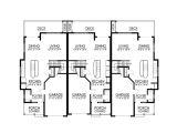 Triplex Home Plans Beautiful Triplex House Plans 8 Eplans Craftsman House