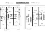 Triplex Home Plans Benjamin Custom Modular Homes Floor Plans