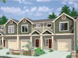 Triplex Home Plans Triplex House Plan with 3 Bedroom Units 38027lb 2nd