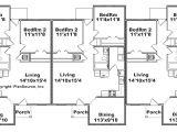 Triplex Home Plans Triplex House Plans Cost Cutting Living
