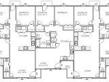 Triplex Home Plans Triplex Plan House Plans 58162