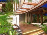 Tropical Home Design Plans the Idea Of Unique Tropical Style House House Style Design