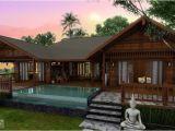 Tropical Home Design Plans Tropical Houses Water Color island Tierra Este 39442