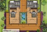 Tropical Home Floor Plans Tropical House Plans with Modern Colors Decorating