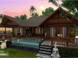 Tropical Homes Plans asian Tropical Homes