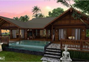 Tropical Homes Plans Tropical Houses Water Color island Tierra Este 39442