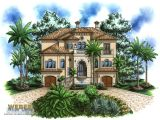 Tropical island Home Plans 2 Story House 3 Story Mediterranean House Plans Tropical