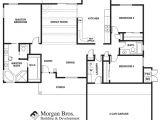 Tucson Home Builders Floor Plans the Catalina Floor Plan From Morgan Bros Home Builders