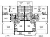 Twin Home Floor Plans Marvelous Twin Home Plans 1 Twin Home Floor Plans