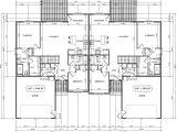 Twin Home Floor Plans Twin Home Floor Plan House Design Plans