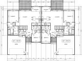 Twin Home Plans Twin Home Floor Plan House Design Plans