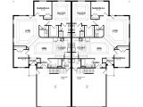 Twin Home Plans Twin Home Floor Plans