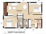 Two Bhk Home Plans Trident Galaxy Khandagiri Bhubaneswar Apartment