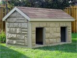 Two Dog Dog House Plans Dog House Plans for Extra Large Dogs