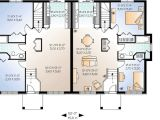 Two Family Home Plans Flexible Two Family House Plan 21244dr 1st Floor