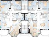 Two Family Home Plans Multi Family Plan 64952 Familyhomeplans Com