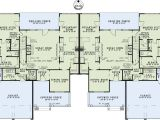 Two Family Home Plans Multi Family Plan 82263 at Familyhomeplans Com