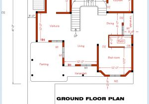 Two Floor House Plans and Elevation 3 Bedroom Home Plan and Elevation House Design Plans