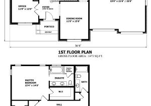 Two Floor House Plans and Elevation Canadian Home Designs Custom House Plans Stock House