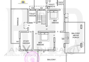 Two Floor House Plans and Elevation Elevation and Floor Plan Of Contemporary Home Kerala