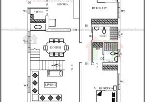 Two Floor House Plans and Elevation Simple Elevation House Plan In Below 2500 Sq Ft