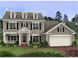 Two Homes In One Plans One Story Colonial Homes 2 Story Colonial House Plans