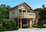 Two Storey Home Plans Two Storey House Plan with Balcony Amazing Architecture