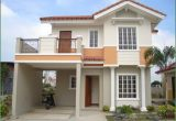 Two Storey Home Plans Two Storey House Plans with Balcony Modern House Plan