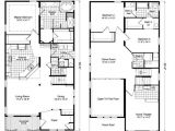 Two Storied House Plan 2 Story Home Design Plans Home Deco Plans