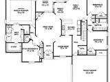 Two Storied House Plan 653964 Two Story 4 Bedroom 3 Bath French Country Style