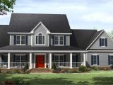 Two Story Country House Plans with Wrap Around Porch Country Two Story Home with Wrap Around Porches Maverick