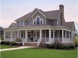 Two Story Country House Plans with Wrap Around Porch Custom Two Story Country Home Plan Maverick