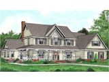 Two Story Country House Plans with Wrap Around Porch Two Story House Plans with Wrap Around Country Porch