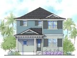 Two Story Florida House Plans Handsome Two Story Florida Home 33159zr Architectural