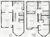 Two Story Home Floor Plans Beautiful 4 Bedroom 2 Storey House Plans New Home Plans