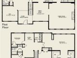 Two Story Home Floor Plans Luxury 4 Bedroom 2 Story House Floor Plans New Home