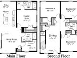 Two Story Home Floor Plans Restore the Shore Collection by Ritz Craft Custom Homes