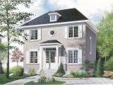 Two Story Home Plans Compact Two Story House Plan 21004dr Architectural