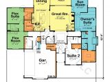 Two Story Home Plans Master First Floor House Plans 2 Master Suites First Floor Gurus Floor