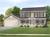Two Story Home Plans Traditional Design with Alternate 22083sl