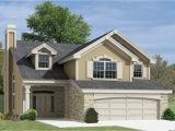 Two Story House Plans for Narrow Lots Simple Two Story House Small Two Story Narrow Lot House