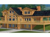 Two Story Log Cabin House Plans Two Story Log Cabin House Plans Custom Log Cabins Country