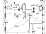 Two Story Metal Building Homes Floor Plans Barndominium Floor Plans Barndominium Floor Plans 1 800