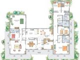 U Shaped Home Plans with Courtyard House Plans U Shaped with Courtyard House Ideas