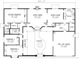 U Shaped Ranch Style Home Plans U Shaped House Plans with Courtyard More Intimacy