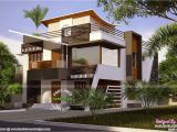 Ultra Modern Home Designs Plans Floor Plan Of Ultra Modern House Kerala Home Design and