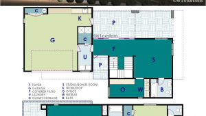 Ultra Modern Home Floor Plans Ultra Modern Live Work House Plan 61custom