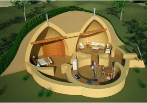 Underground Dome Home Plans Earthbag Eco House Site Wilderness Return